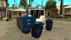 Corte de tractor