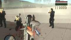 Variedad de armas en Swat