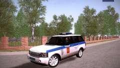 Range Rover Supercharged 2008 policía Departamen
