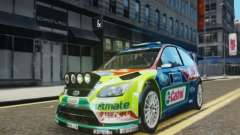 Ford Focus RS WRC para GTA 4