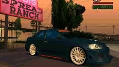 Honda Civic sintonizado (corregido) para GTA San Andreas