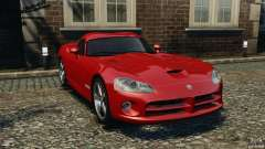 Dodge Viper SRT-10 Coupe para GTA 4