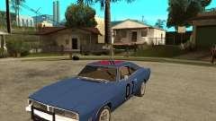 El general Lee Dodge cargador General Lee para GTA San Andreas