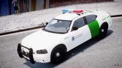 Dodge Charger US Border Patrol CHGR-V2.1M [ELS] para GTA 4