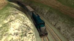 San Andreas Beta Train Mod para GTA San Andreas