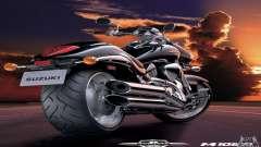 Pantallas de carga y menús en el estilo de la motocicleta para GTA San Andreas