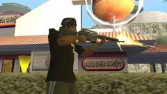 Municiones incendiarias para GTA San Andreas