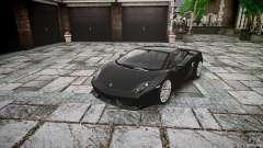 Lamborghini Gallardo LP560-4 серый para GTA 4