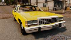 Ford LTD Crown Victoria 1987 L.C.C. Taxi para GTA 4