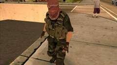Dušmana piel de COD4 para GTA San Andreas