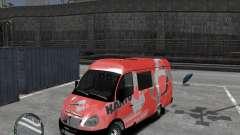Gacela 2705 Telkomsel Van
