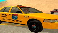 Ford Crown Victoria 2003 Taxi for state 99 para GTA San Andreas