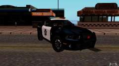 Ford Shelby Mustang GT500 Civilians Cop Cars para GTA San Andreas