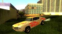 Chevy Chevelle SS stock 1970 para GTA San Andreas