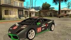 Lamborghini Gallardo LP560 para GTA San Andreas