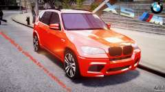 BMW X5M Chrome para GTA 4