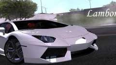 Lamborghini Aventador LP700-4 Final para GTA San Andreas
