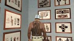 50cent_tatu para GTA San Andreas
