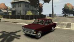 412 AZLK Moskvich para GTA 4