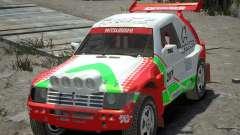 Mitsubishi Pajero Proto Dakar EK86 vinilo 2