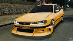 Peugeot 406 Taxi para GTA 4