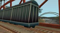 Vagón de carga de los surfistas del metro