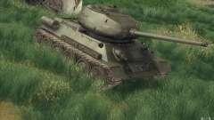 T-34-85 desde el juego COD World at War