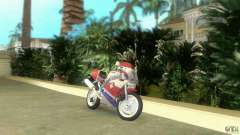 Yamaha FZR 750 white lighted para GTA Vice City
