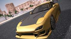 Mazda RX-7 FD3S C-West Custom para GTA San Andreas
