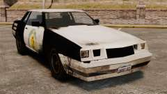 Policía para colorear para un sable oxidado para GTA 4