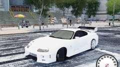 Toyota Supra Drift Setting