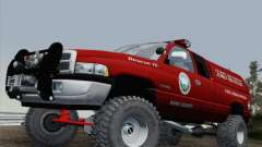 Dodge Ram 3500 Search & Rescue para GTA San Andreas