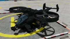 Un helicóptero de combate AT-99 Scorpion