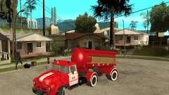 El camión de bomberos AB-6 (130В1) para GTA San Andreas