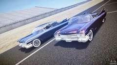 Cadillac Eldorado 1959 interior black