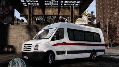 Volkswagen Crafter Turkish Schoolbus para GTA 4