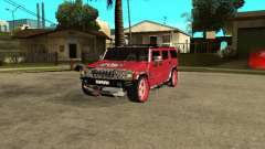 Hummer H2 Diablo para GTA San Andreas