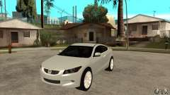 Honda Accord Coupe 2009 para GTA San Andreas
