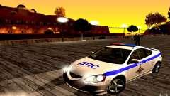 Acura RSX-S policía