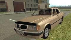 GAS 3110 Volga silver para GTA San Andreas
