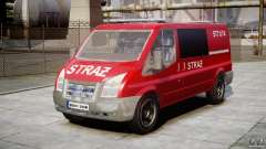Ford Transit Polish Firetruck [ELS]