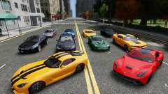Real Car Pack 2013 Final Version para GTA 4