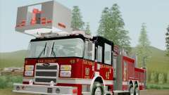 Pierce Rear Mount SFFD Ladder 49 para GTA San Andreas