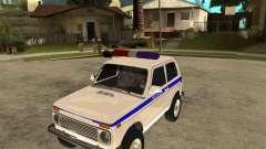 VAZ 2121 policía para GTA San Andreas