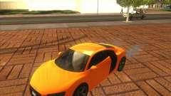 Audi R8 2007 para GTA San Andreas
