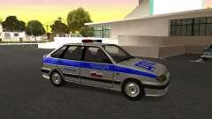 ВАЗ 2114 policía