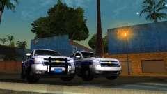 Chevrolet Silverado Rockland Police Department para GTA San Andreas