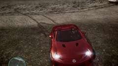 Lexus LF-A Roadster para GTA 4