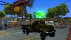 Camión KrAZ desfile para GTA San Andreas