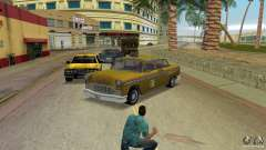 Cabbie HD para GTA Vice City